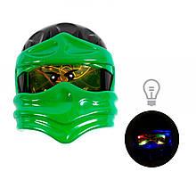 Маска Ниндзяго (зеленая)