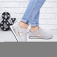 Кроссовки женские Nike серые 5562, спортивная обувь, фото 1