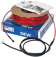 Нагревательный кабель двужильный со сплошным экраном DEVIflex™ 18T, 180 Вт, 10.0 м