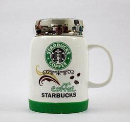 Чашка кружка керамическая Starbucks SH 025-1 Green