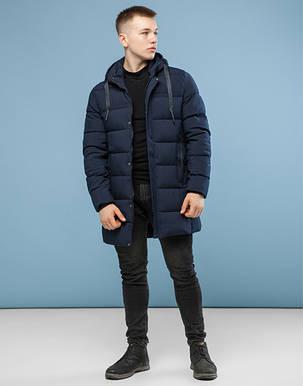 11 Киро Токао | Мужская зимняя куртка 6002 темно-синий, фото 2