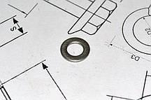 Шайба плоская Ф20 DIN 125 из стали А2