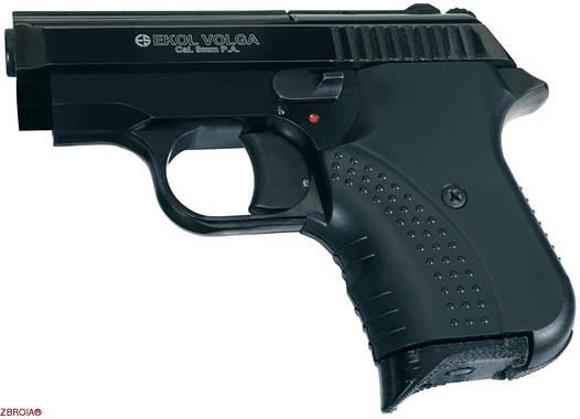 Стартовый пистолет Ekol Volga Black кал. 9мм