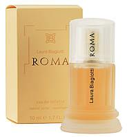 Laura Biagiotti - Roma (1988) - Туалетная вода 100 мл (тестер)- Старый дизайн,старая формула аромата 1988 года, фото 1
