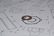 Шайба плоская Ф24 DIN 125 из стали А2
