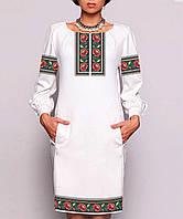 Заготовка жіночого плаття чи сукні для вишивки та вишивання бісером Бисерок  «Борщівське 171» ( 3c88cb6438abc