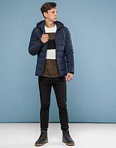 11 Киро Токао | Зимняя подростковая куртка 6016-1 темно-синий, фото 2