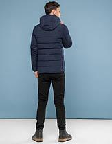11 Киро Токао | Зимняя подростковая куртка 6016-1 темно-синий, фото 3