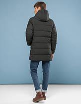 11 Киро Токао | Зимняя подростковая куртка 6005-1 хаки, фото 3