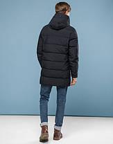 11 Kiro Tokao   Куртка подростковая на зиму 6005-1 черный, фото 3