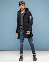 11 Kiro Tokao   Куртка подростковая на зиму 6003-1 черный, фото 2