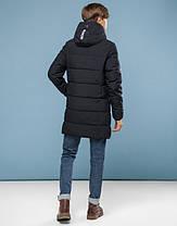 11 Kiro Tokao   Куртка подростковая на зиму 6003-1 черный, фото 3