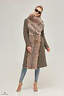 Длинное зимнее женское пальто Пв-64, фото 1