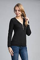 ТРикотажный женский блузон, фото 1