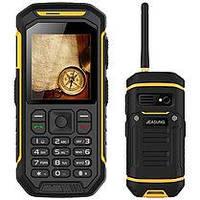 Мобильный телефон-рация Jeasung X6  РАЦИЯ  2,4 дюйма,2 сим,2500 мА\ч,IP68