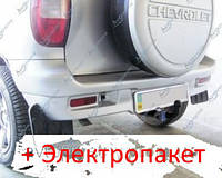 Фаркоп - ВАЗ-21236 Niva Chevrolet Внедорожник (2009-2014) сьемный