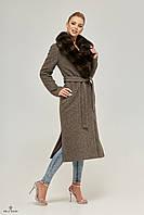 Пальто женское зимнее длинное Пв-67, фото 1