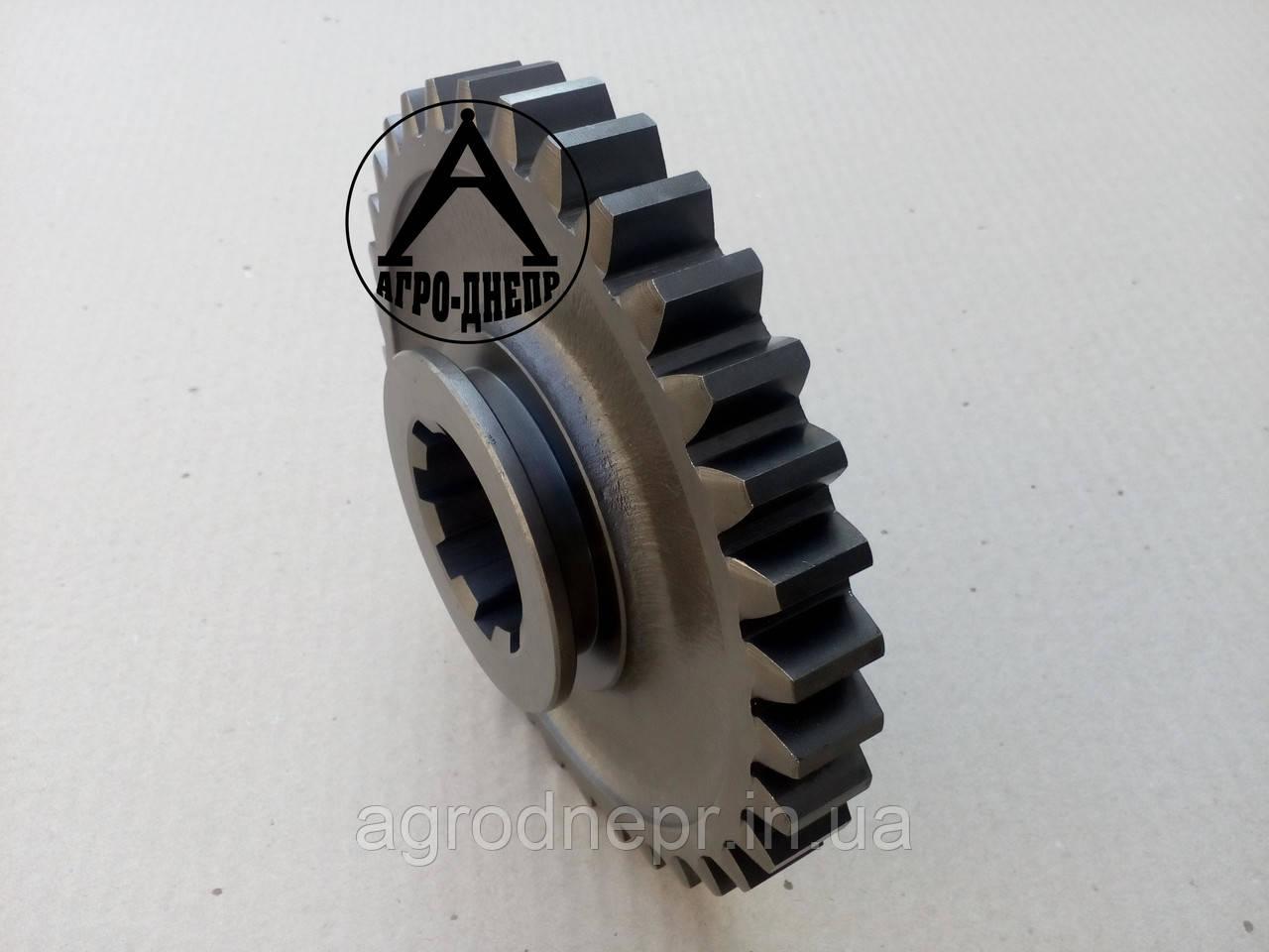 Колесо зубчатое скользящее первой передачи и заднего хода трактора ЮМЗ z-34 36-1701112-А2