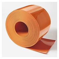 Материал ПВХ 200х2 оранжевый непрозрачный (матовый)