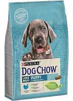 Dog Chow (Дог Чау) Puppy Large Breed корм для щенков крупных пород с индейкой 14кг