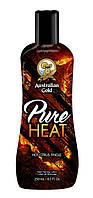 Крем для засмаги в солярії AUSTRALIAN GOLD ICONIC COLLECTION Pure Heat, 250 ml