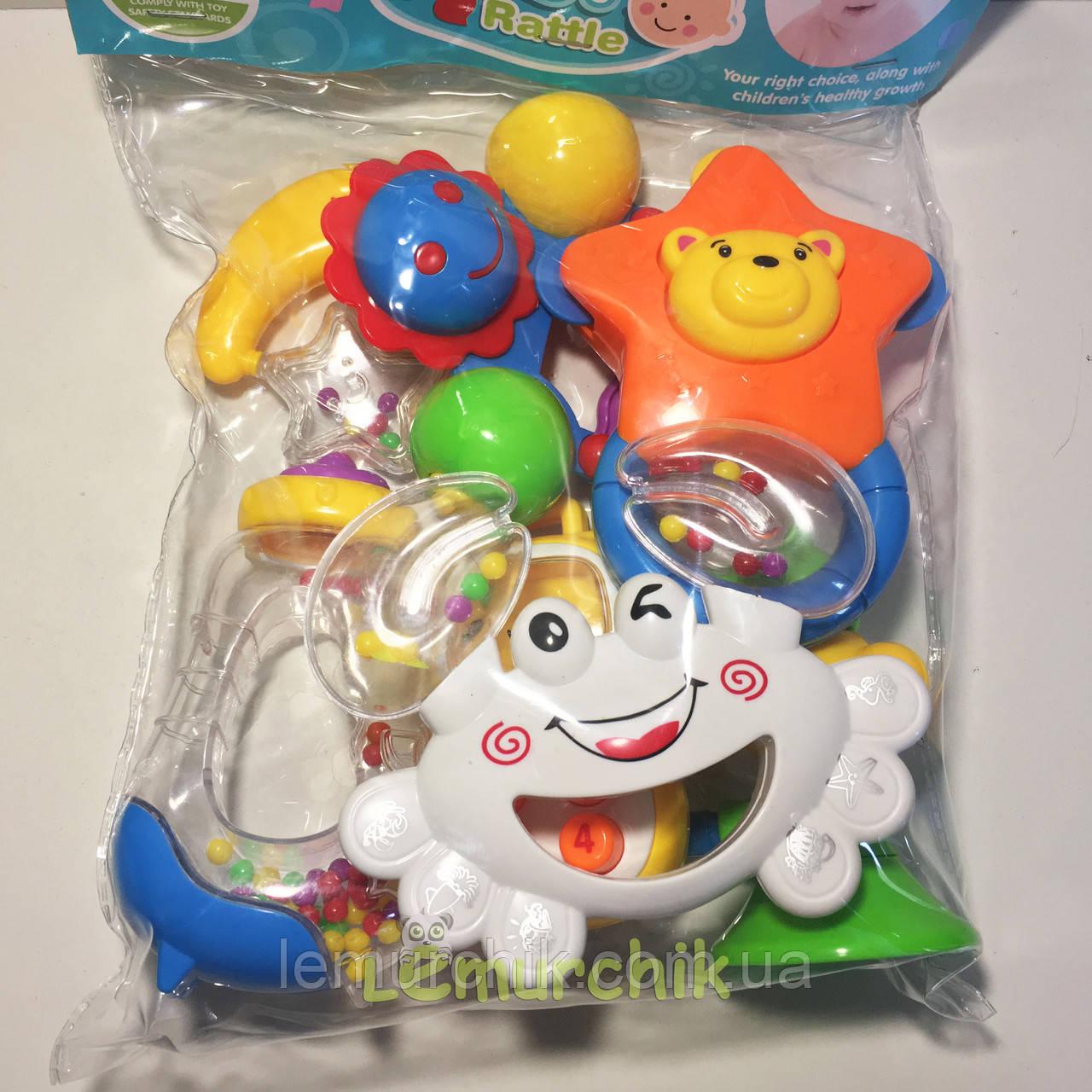 Набір іграшок-брязкалець 7 штук