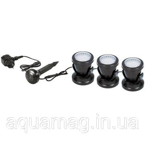 AquaKing LED-103 подсветка, светильник для пруда, фонтана, водопада, водоема, каскада, озера, сада