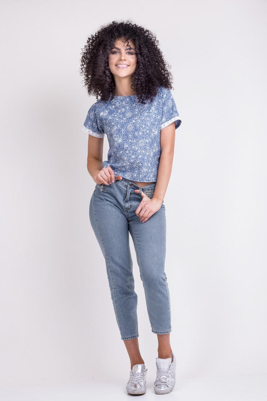 Нарядная летняя женская блуза