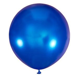 Шар 30/75 см Мексика Металлик BLUE (синий металлик)