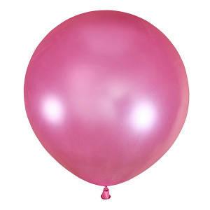"""Шар 30"""" (75 см) Мексика металлик 073 PINK (розовый), фото 2"""