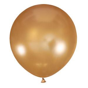 """Шар 30"""" (75 см) Мексика металлик 025 GOLD (золото)"""