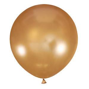Шар 30/75см Мексика Металлик GOLD (золото), фото 2