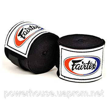 Бинты боксерские Fairtex HW2-blk 4,5 м.