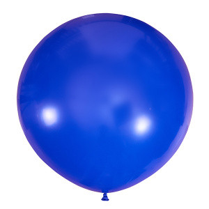 """Шар 36"""" (91 см) Мексика декоратор 044 ROYAL BLUE (темно-синий)"""