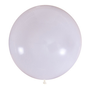 """Шар 36"""" (91 см) Мексика пастель 004 WHITE (белый)"""