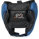 Шлем боксерский тренировочный RIVAL HI PERF TRAINING HEADGEAR - BLUE, фото 2