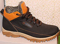 Кроссовки мужские зимние из натуральной кожи от производителя модель МКР-103, фото 1