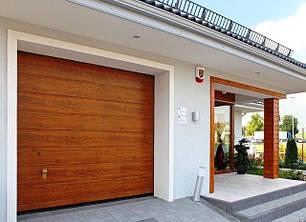 Ворота гаражные секционные DoorHan
