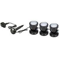 AquaKing LED-303 подсветка, светильник для пруда, фонтана, водопада, водоема, каскада, озера, сада