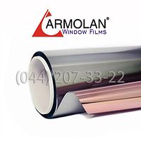 Архитектурная солнцезащитная зеркальная плёнка для тонировки окон Armolan R Bronze-15 (1,524)