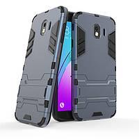 Чехол Samsung J400 / J4 / J4 2018 Hybrid Armored Case темно-синий