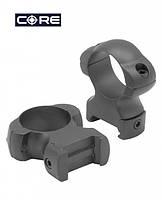 Стальные высокие кольца CORE SR-1003 WH 25.4 мм, Weaver