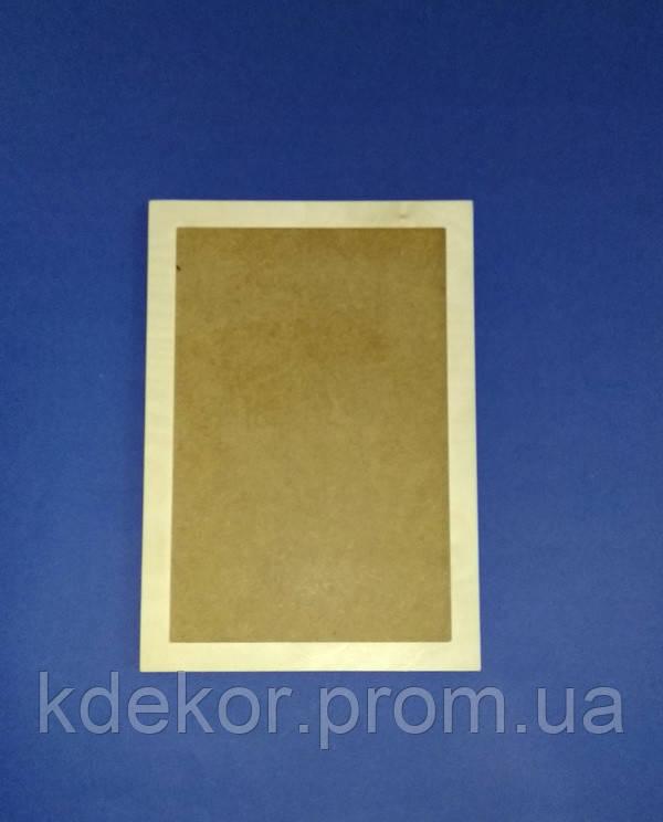 Рамка для фото (розмір під фото 22х15см.) заготівля для декупажу та декору