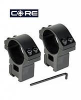Кольца средние CORE AR-1004WM 25.4 мм, Weaver