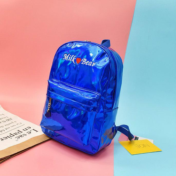Голографический рюкзак Milk Bear