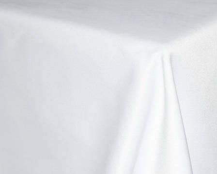 Скатерть 240х390см на стола 240х90/75 Белая Турция, фото 2