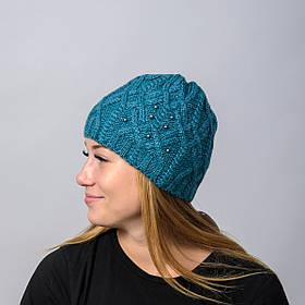 "Вязанная женская шапка ""Doroty"""