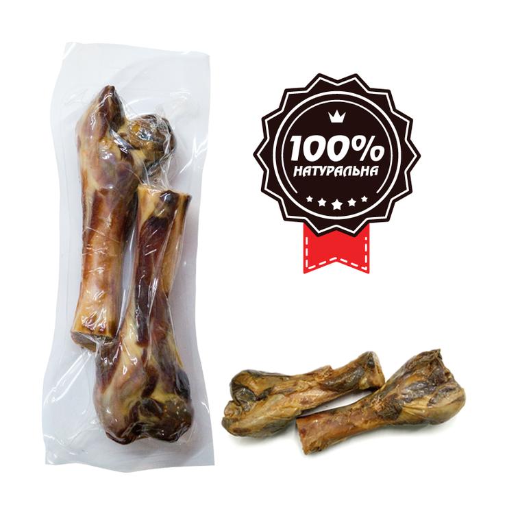 Ласощі для собак ALPHA SPIRIT м'ясна кістка Дві половинки