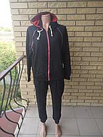 Костюм спортивный женский трикотажный больших размеров DUDUBOBO