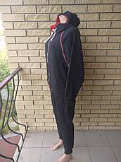 Костюм спортивный женский трикотажный больших размеров DUDUBOBO, фото 2